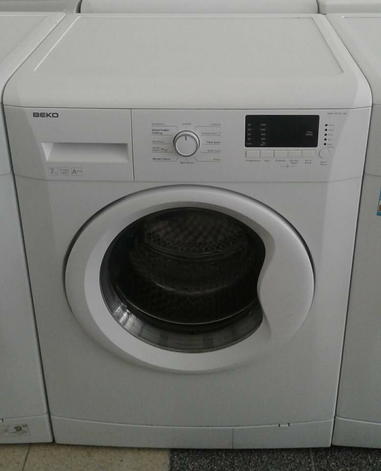 c641 white beko 7kg 1500spin A++ washing machine comes with warranty can be delivered or collected