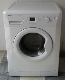 e715 white beko 7kg 1200spin A+A washing machine comes with warranty can be delivered or collected