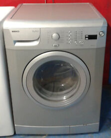 m394 silver beko 7kg 1600spin A+AA rated washing machine comes with warranty can be delivered