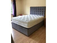 BRAND NEW STUNNING PARIS BED! 5 DIFFERENT COLOURS! CAN DELIVER