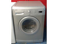 x394 silver beko 7kg 1600spin A+AA rated washing machine comes with warranty can be delivered