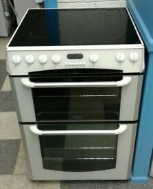 a741 white belling 60cm electric cooker comes with warranty can be delivered or collected