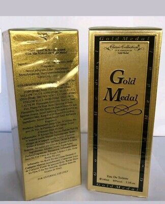 Metal Spray Cologne (Gold Metal like 1 Million Cologne Perfume 3.3 oz Edt Spray Fragrance for)