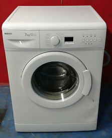 b552 white beko 7kg 1300spin A+A washing machine comes with warranty can be delivered or collected