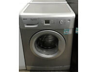 c596 silver beko 7kg 1400spin A+A rated washing machine comes with warranty can be delivered