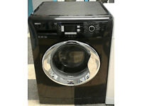 a386 black beko 9kg 1200spin AAB rated washing machine come with warranty can be delivered