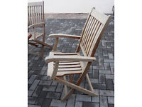 Garden chairs foldable