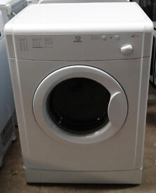 *c133 white indesit 6kg vented dryer comes with warranty can be delivered or collected