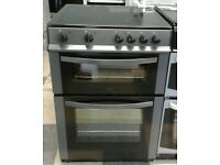 a194graphite logik 60cm ceramic hob electric cooker comes with warranty can be delivered