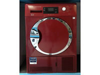 Z106 red beko 9kg B rated condenser dryer comes iwth warranty can be delivered or collected