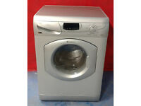 a406 silver hotpoint 5kg&5kg 1600spin washer dryer comes with warranty can be delivered or collected