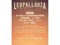 Leopallooza - Sunday camping ticket with parking 29 July 2018