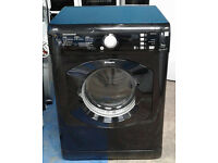 a026 black hotpoint 7.5kg set & forget vented dryer comes with warranty can be delivered