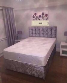 BRAND NEW high quality divan beds including mattress and headboard ✅