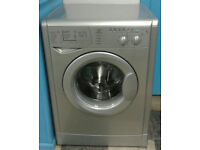 a704 silver indesit 6kg 1600spin washing machine come with warranty can be delivered or collected