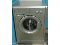 a704 silver indesit 6kg 1600spin washing machine comes with warranty can be delivered or collected