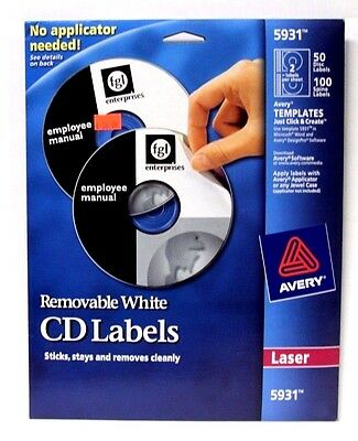 avery label template 5931 - avery cd labels owner 39 s guide to business and industrial