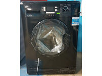 m499 NEW black beko 7kg 1300spin washing machine comes with warranty can be delivered or collected