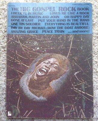 The Big Gospel Rock Book Piano/Vocal/Chords (1976, Paperback) ()