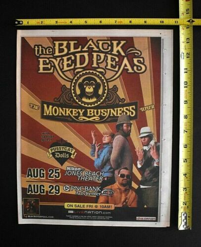 The Black Eyed Peas 2006 Concert  Ad Jones Beach NY PNC NJ Monkey Business Tour