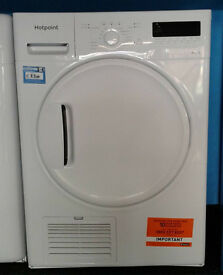 E284 white hotpoint 8kg B rated condenser dryer new with manufacturers warranty can be delivered