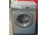 H522 graphite hotpoint 5+5kg 1400 spin washer dryer comes with warranty can be delivered or collect