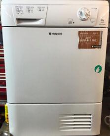 Hotpoint TCM580 8kg White Condenser Tumble Dryer 1 YEAR GUARANTEE