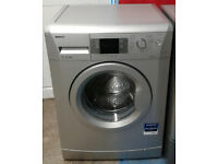 y030 silver beko 7kg 1600spin A++ rated washing machine comes with warranty can be delivered
