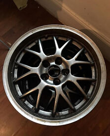 2 X RIAL NOGARO BBS 5X120 18''8J BMW SPARE WHEELS (TWO RIMS ONLY)