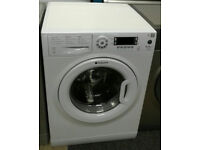 a055 white hotpoint 9kg 1600spin A+++ rated washing machine comes with warranty can be delivered