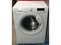 x393 white hoover 8kg 1400spin A+ rated washing machine comes with warranty can be delivered
