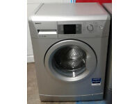 m030 silver beko 7kg 1600spin A++ rated washing machine comes with warranty can be delivered