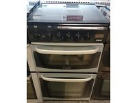 e436 silver cannon 50cm gas cooker comes with warranty can be delivered or collected