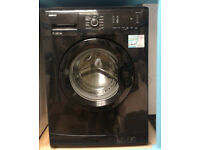 Z629 black beko 7kg 1200spin A+ rated washing machine comes with warranty can be delivered