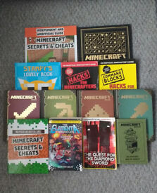 FOR SALE - MINECRAFT BOOKS