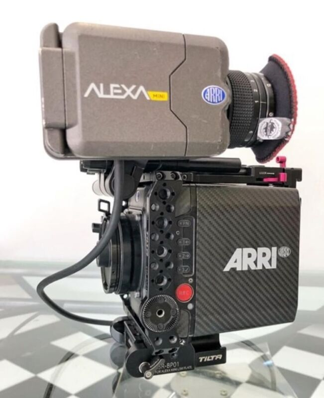 Arri Alexa Mini with 4:3, ArriRaw, Arri look Licensees- Low hours (1,040)