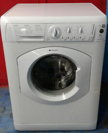 m328 white hotpoint 6kg 1400spin washing machine comes with warranty can be delivered or collected