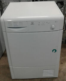 a147 white indesit 7kg condenser dryer comes with warranty can be delivered or c ollected