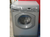 G522 graphite hotpoint 5+5kg 1400 spin washer dryer comes with warranty can be delivered or collect