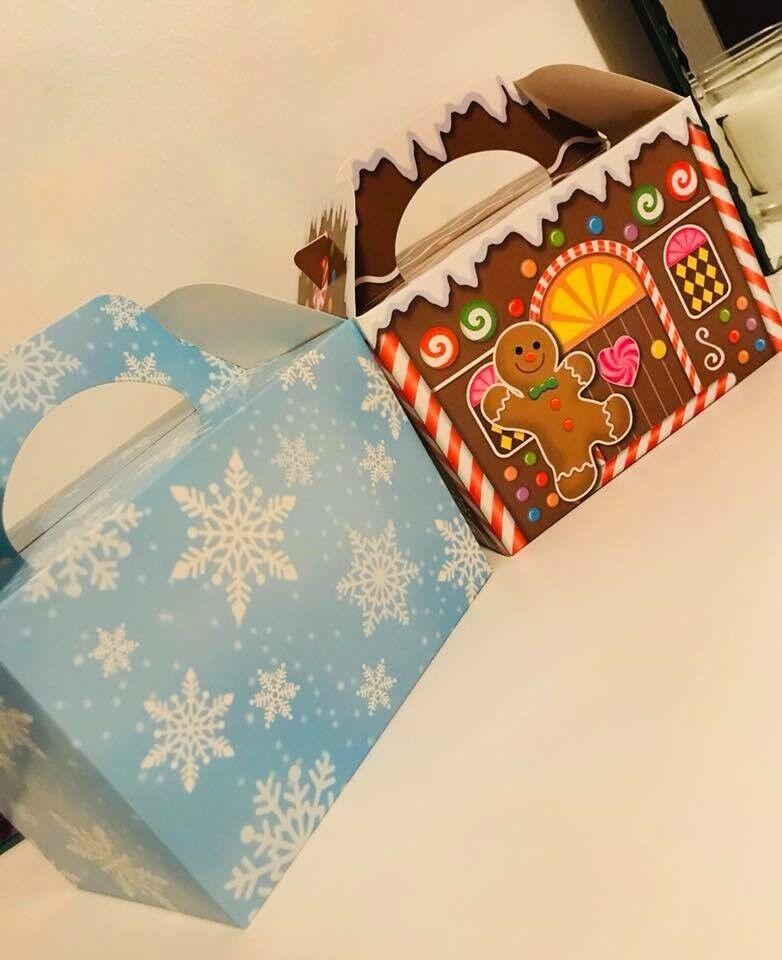 Mini Christmas Eve boxes.