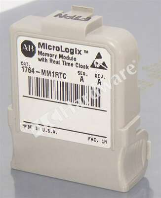 Allen Bradley 1764-mm1rtc A Micrologix 1500 8 Kb Memory Module With Rtc