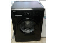 c026 black beko 7kg 1200spin A+ rated washing machine comes with warranty can be delivered