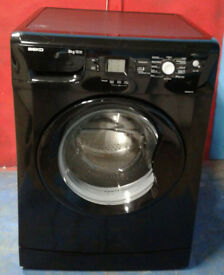 l336 black beko 8kg 1200spin A+A rated washing machine comes with warranty can be delivered