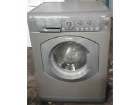 L373 graphite hotpoint 6kg 1600spin washing machine comes with warranty can be delivered