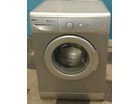 a719 silver beko 6kg 1400spin A+A rated washing machine comes with warranty can be delivered