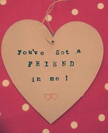 Friend heart