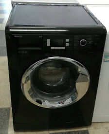 x450 black beko 9kg 1200spin A++ rated washing machine comes with warranty can be delivered
