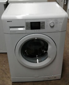 f008 white beko 7kg 1600spin A++ rated washing machine comes with warranty can be delivered