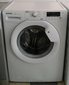 c707 white hoover 7kg 1600spin A+ washing machine comes with warranty can be delivered or collected