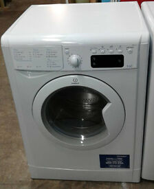 I585 white indesit 7kg&5kg 1400spin washer dryer comes with warranty can be delivered or collected
